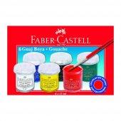 Faber Castell 6 Renk Guaj Boya