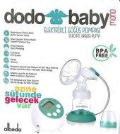 Dodo Baby Tekli Elektrikli Göğüs Süt Sağma Pompası