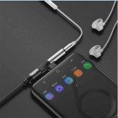 Samsung Galaxy Note 10+ (Plus) Type-C to 3.5mm+Type C Kulaklık Ço-5