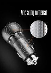 Oppo AX7 Metal Hızlı Araç Şarj Cihazı Micro 3.6A Quick 3.0-11