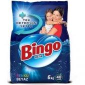 Bingo Renkli Beyaz 6 Kg Toz Deterjan
