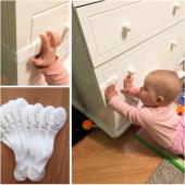 Bebek Çekmece Dolap Kapı Emniyet Güvenlik Kilidi Seti Kilitleri Çocuk Koruyucu Beyaz Eşya Buzdolabı Klozet Kapak Koruma Aleti Gereçleri Ürünleri Epttavm Şok Fiyatları Fiyatı Aparatı