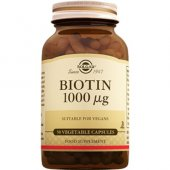 Solgar Biotin 1000 Mcg 50 Bitkisel Kapsül Skt...