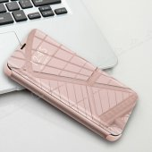 Eiroo Mirror Cover Samsung Galaxy S9 Plus Aynalı Kapak Rose Kılıf-6