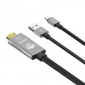 Go Des Gd 8278 Lightning Hdtv Kablo 1.8m 4k Görüntü Destekli