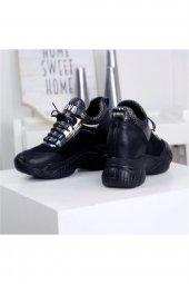 Rota Siyah Bayan Spor Ayakkabı