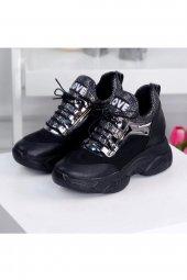 Rota Siyah Bayan Spor Ayakkabı-2