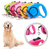 5 Metre Otomatik Makaralı Köpek Gezdirme Tasması Yürütme Kayışı Tasma Boyun Pup Style Şerit İp