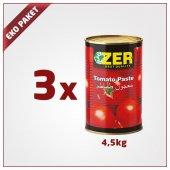 Zer Domates Salçası 4.5kg X 3 Adet