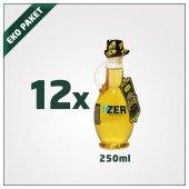 Zer Naturel Sızma Zeytinyağı 250ml X 12 Kulplu Cam