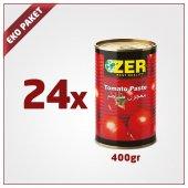 Zer Domates Salçası 400gr X 24 Adet