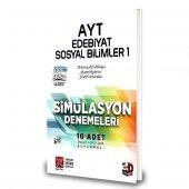 3d Yayınları Ayt Edebiyat Coğrafya Deneme 2020