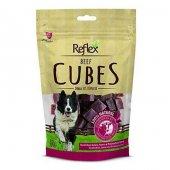 Reflex Beef Cubes Biftek Küp Köpek Ödülü 80 Gr 3 Adet