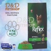 Reflex Plus Kitten Yavru Kedi Maması 4 Kg Açık