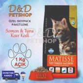 Matisse Neutered Somon Tuna Kısır Kedi Maması 1 Kg Açık