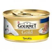 Gourmet Gold Kıyılmış Tavuklu Kedi Konservesi 85 Gr
