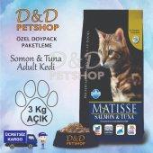 Matisse Adult Somon Tuna Yetişkin Kedi Maması 3 Kg Açık