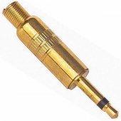 3.5 Mm Mono Gold Metal Jack Fiş
