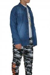 Vikings Jeans Erkek Çocuk Kot Gömlek