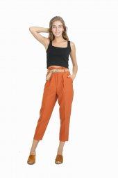 Vikings Jeans Bayan Kot Denim Pantolon