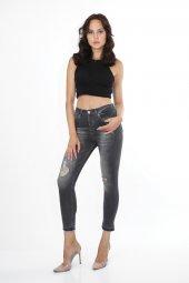 Vikings Jeans Bayan Slim Fit Kot Denim Pantolon 30 Boy 9003