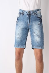 Vikings Jeans Erkek Şort Spor Şort 8002