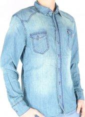 Vikings Jeans Erkek Kot Gömlek Kg002