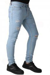 Vikings Jeans Erkek Kot Denim Pantolon 32 Boy 1067