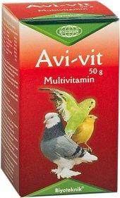 Kuşlar İçin Multivitamin Avi Vit