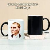 Atatürk Kişiye Özel Sihirli Kupa Pi223