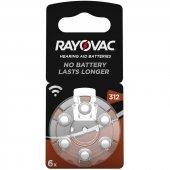 Rayovac 312 No Kulaklık Pili 6li Paket Fiyat