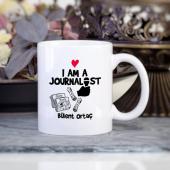 Kişiye Özel Gazeteci Kupa Bardak