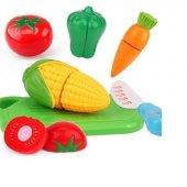 Poşette Oyuncak Meyve Sebze Kesmeli