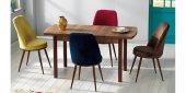 Masa Sandalye Takımı Açılır Masa Varna312-3