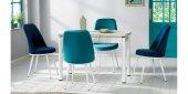 Masa Sandalye Takımı Açılır Masa Varna312-4
