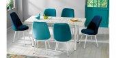 Masa Sandalye Takımı Açılır Masa Varna312