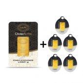 5+5 Gr Iar Gram Külçe Altın Ücretsiz Kargo