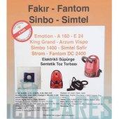 Fakır Fantom Sinbo Simtel Toz Torbası 10'lu Paket