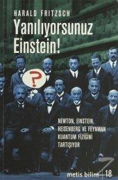 Yanılıyorsunuz Einstein Harald Fritzsch