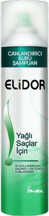 Elidor Kuru Şampuan Yağlı Saçlar İçin 250 ml