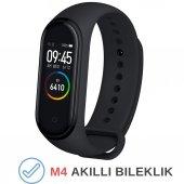M4 Akıllı Saat Kol Bandı Smart Adımsayar Android İphone Uyumlu