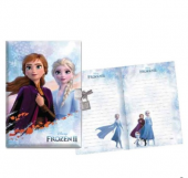 Frozen 2 Kilitli Hatıra Defteri 104 Yaprak 14x20cm 01