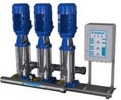 Sumak Shtp16 C 750 12 Düşey Milli Kademeli Üç Pompalı Paslanmaz Hidrofor 19 Kat 144 Daire