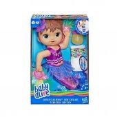 Baby Alive Deniz Kızı Bebeğim Kumral E3691