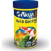 Art Akua Koi Japon Balığı Yüksek Proteinli Balık Yemi 100 Gr