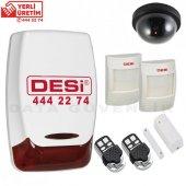 Desi Midline Plus Alarm Seti 2- Hırsız Alarm Sistemi + Kamera