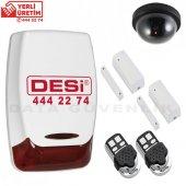 Desi Midline Alarm Seti 2- Hırsız Alarmı - Alarm Sistemi + Kamera