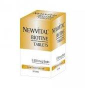 Newvital Biotin 5000 Mcg 30 Tablet