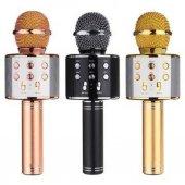 Orijinal Karaoke Bluetooth Mikrofon Wster Ws 858 Usb Ses Değiştir