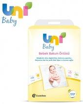 Uni Baby Bebek Bakım Örtüsü 60*60cm (İç Adet 10) Tekli Pk